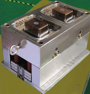 2 cavity thinwall container mould